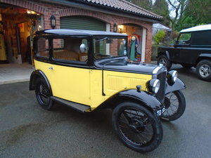 Picture of 1933 Austin Seven RP Box Saloon SOLD