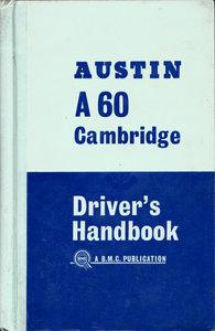 Official Austin A60 Cambridge Handbook 1963