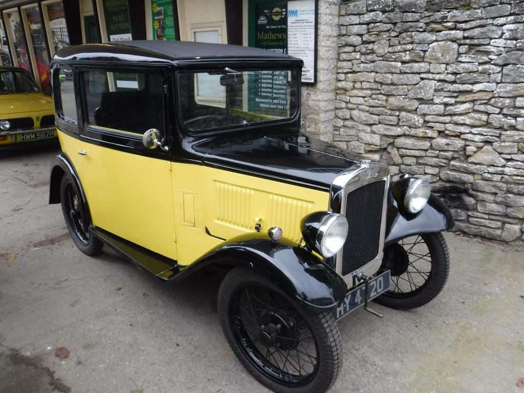 **MARCH AUCTION**1932 Austin 7 Box Saloon SOLD by Auction (picture 1 of 1)