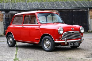 1963 Austin Seven Mini Mk 1 1 owner - 47,000 miles For Sale by Auction