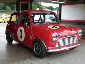 1964 Austin Mini Cooper 'S' Appendix 'K' Race car