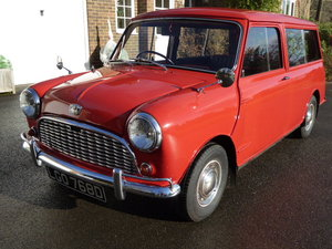 1966 Rare MK1 All Metal Austin Mini Countryman Estate For Sale