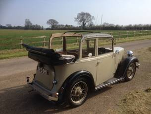 1935 Austin Seven Pearl Cabriolet - early 'AC' model SOLD