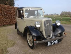 1935 Austin Seven Pearl Cabriolet - early 'AC' model SOLD (picture 2 of 6)