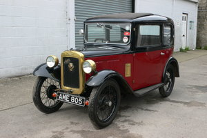 1933 Austin 7 Saloon For Sale by Auction