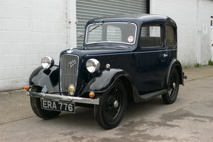 1938 Austin 7 Ruby Saloon For Sale by Auction