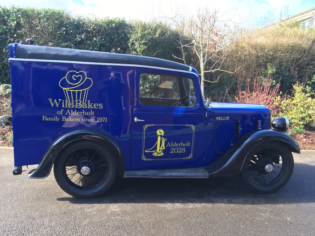 1938 Austin 7 AVK VAN For Sale (picture 1 of 6)