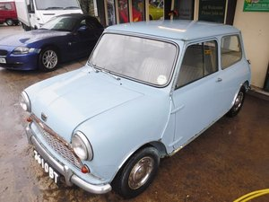 **REMAINS AVAILABLE**1960 Austin Mini SOLD by Auction