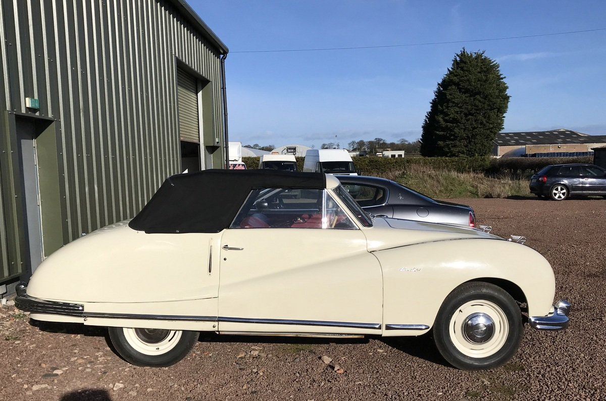 1950 Austin Atlantic Convertible P/X or For Sale (picture 4 of 6)