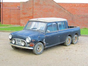 Picture of 1965 Austin Mini 6 wheel pick-up at ACA 13th April  SOLD