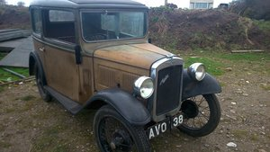 1934 AUSTIN 7 RP BOX SALOON DE-LUXE For Sale