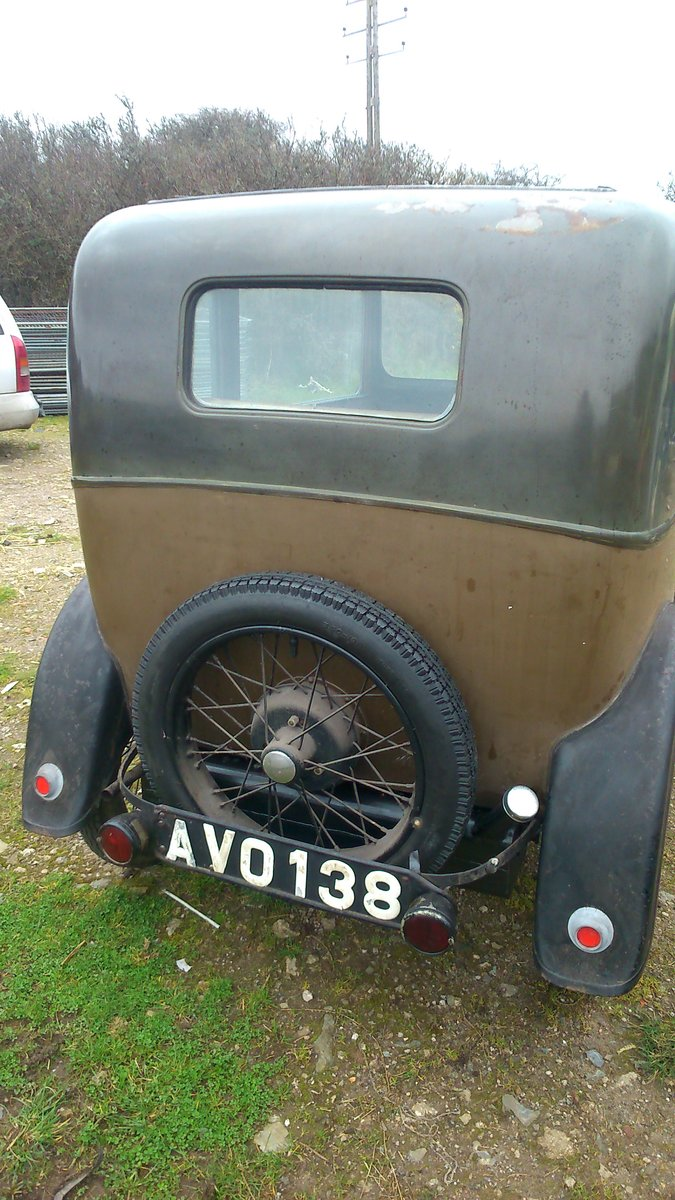1934 AUSTIN 7 RP BOX SALOON DE-LUXE SOLD (picture 2 of 6)