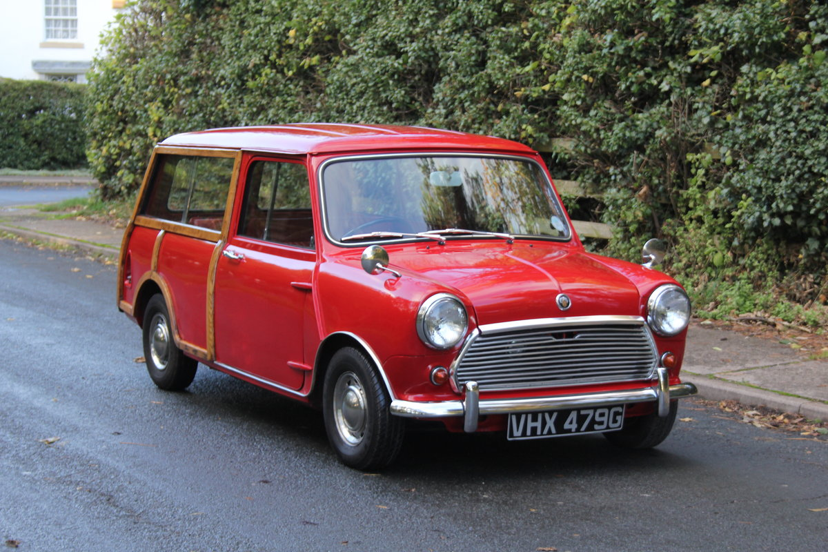 1969 Austin Mini Countryman MK2, 1 of 58 known worldwide SOLD (picture 1 of 12)