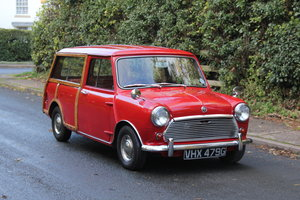 1969 Austin Mini Countryman MK2, 1 of 58 known worldwide SOLD