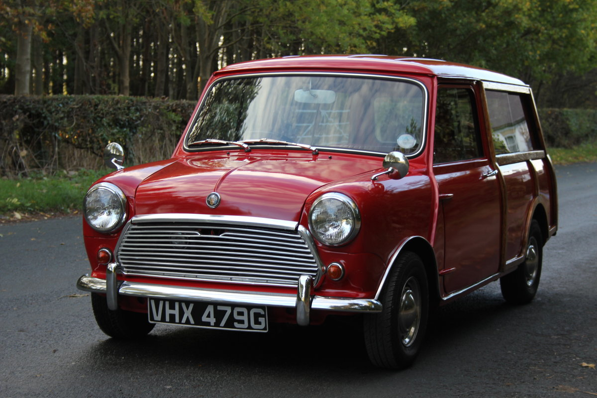 1969 Austin Mini Countryman MK2, 1 of 58 known worldwide SOLD (picture 3 of 12)