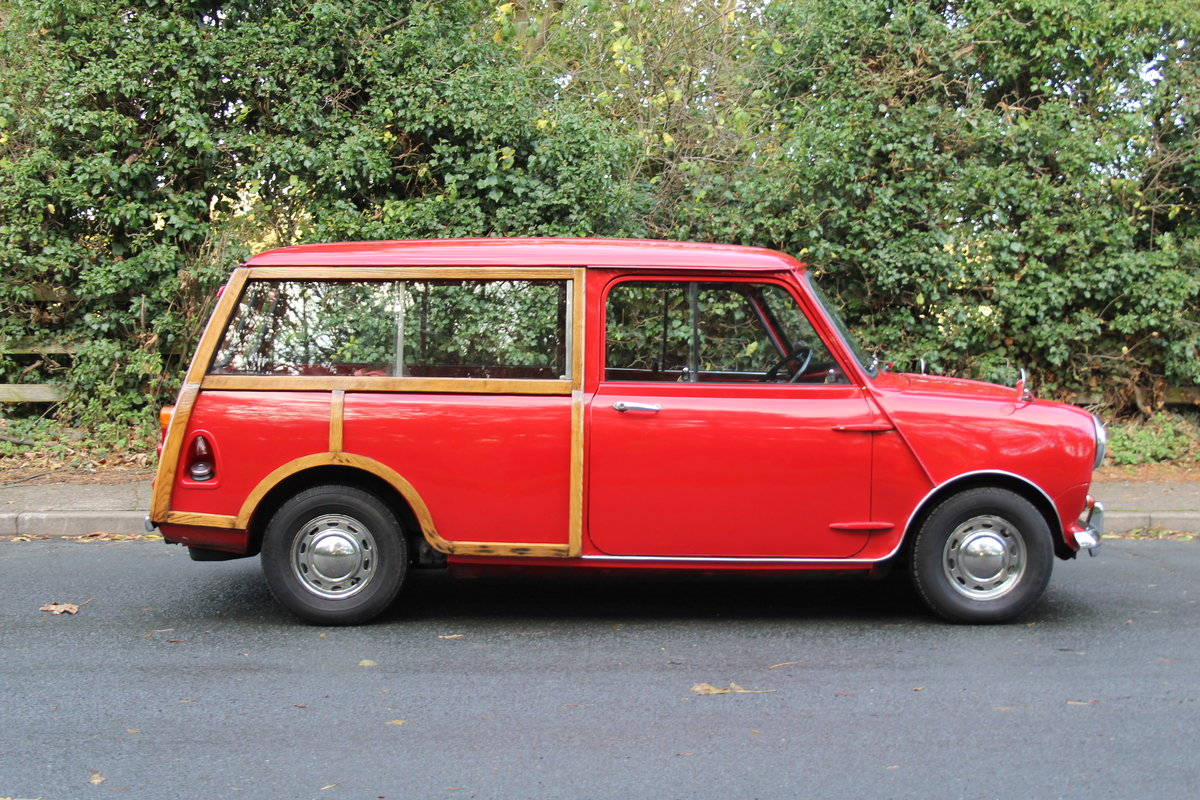 1969 Austin Mini Countryman MK2, 1 of 58 known worldwide SOLD (picture 7 of 12)