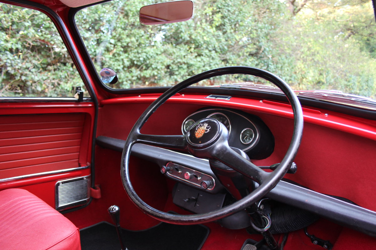 1969 Austin Mini Countryman MK2, 1 of 58 known worldwide SOLD (picture 8 of 12)