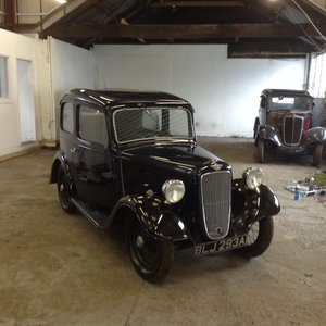 1937 Austin 7 ruby For Sale