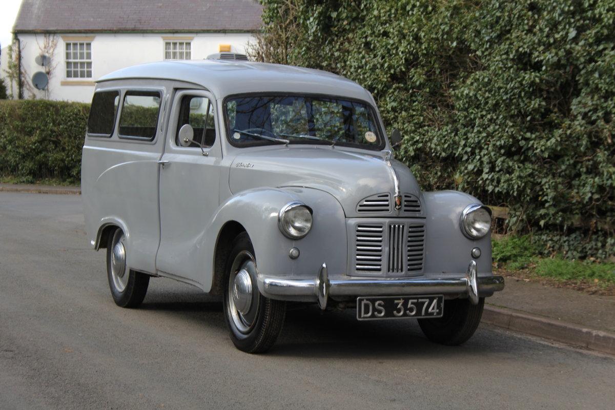 1955 Austin A40 Devon Passenger Van - Unrepeatable find SOLD (picture 1 of 12)