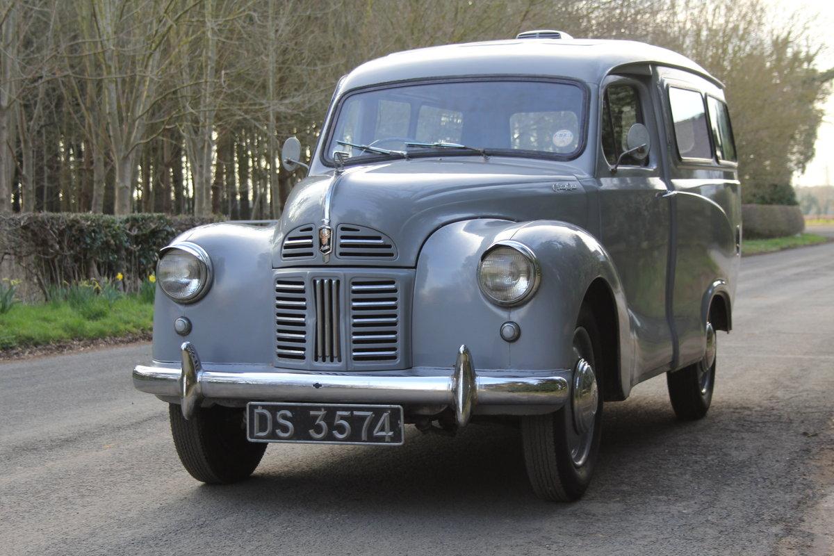 1955 Austin A40 Devon Passenger Van - Unrepeatable find SOLD (picture 2 of 12)