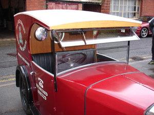 1926 austin 'c' cab van. For Sale