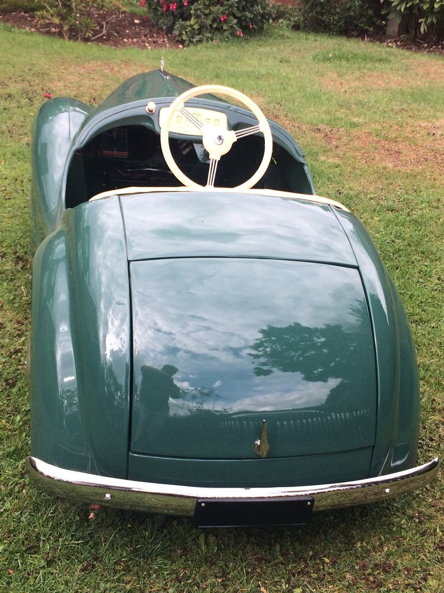 1952 Austin j40 pedal car For Sale (picture 6 of 6)