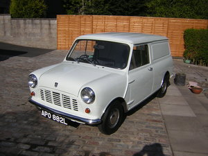 1973 Austin Mini 850 Van For Sale