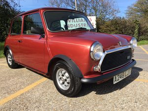1984 Austin Mini Mayfair. 1000cc. Oporto red. Only 32k For Sale