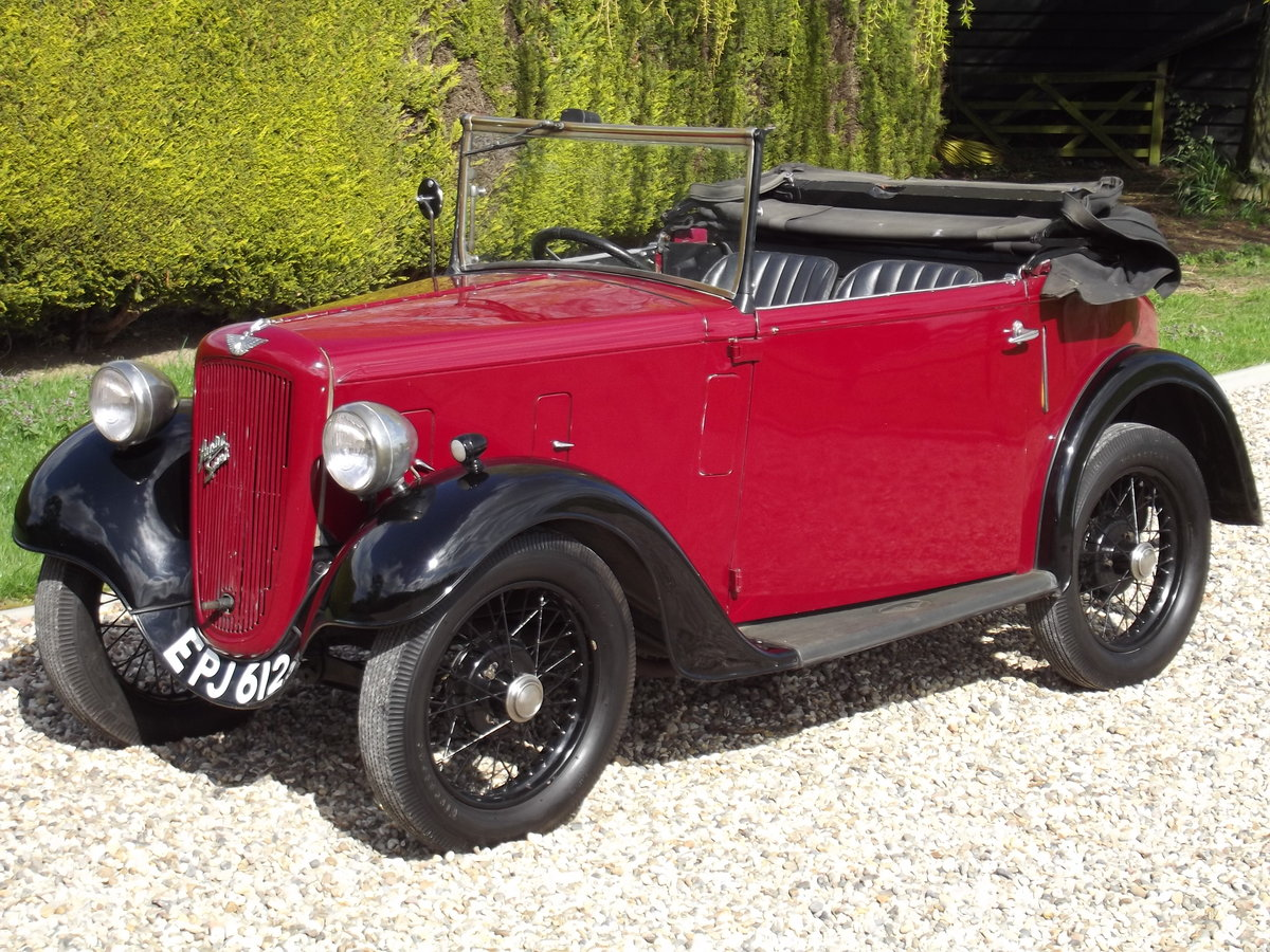 1936 Austin Seven Opal Tourer SOLD (picture 1 of 6)