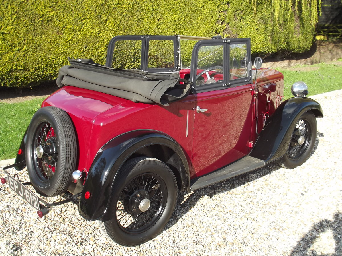 1936 Austin Seven Opal Tourer SOLD (picture 2 of 6)