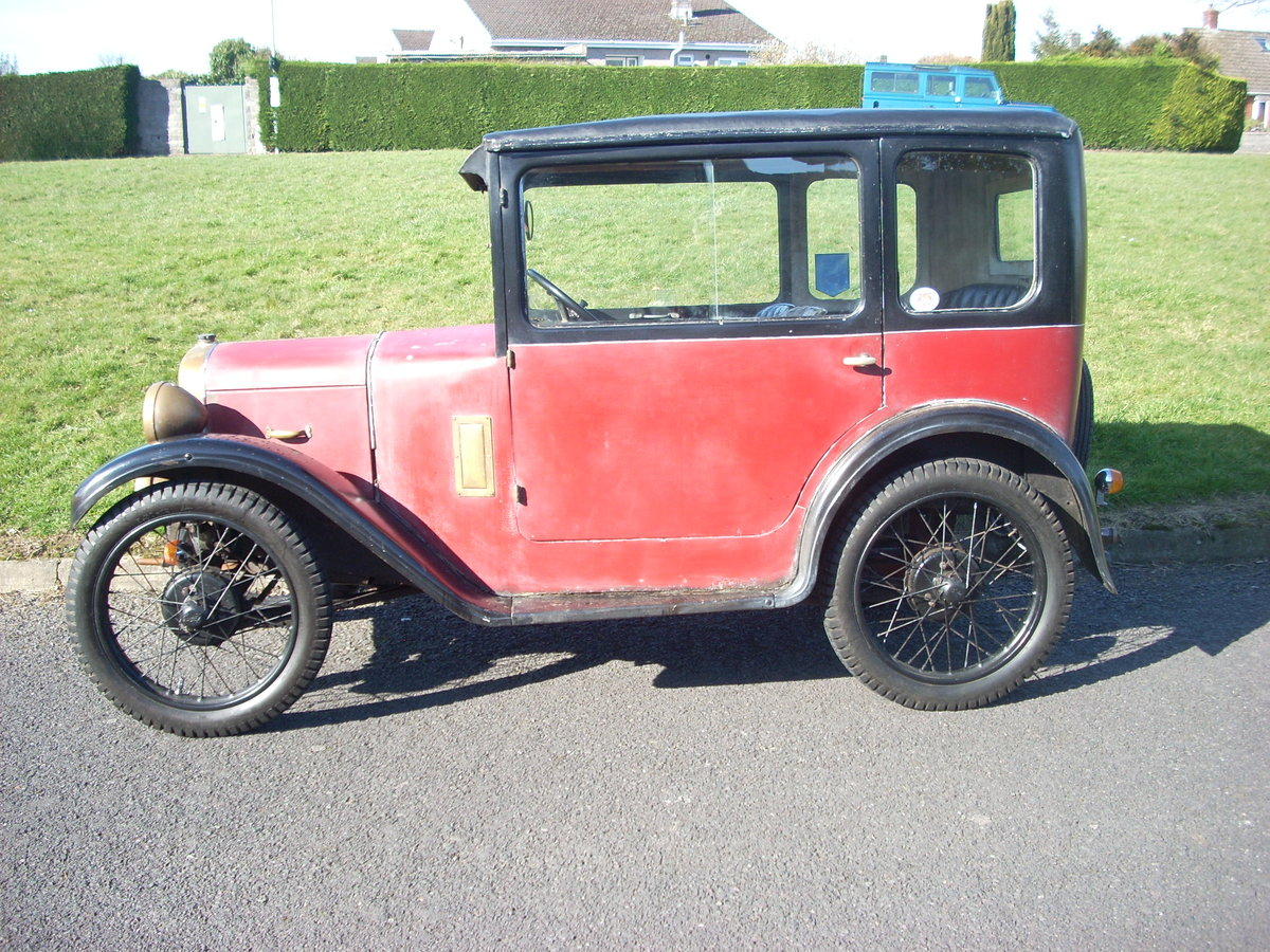 1930 Austin Seven RK Saloon For Sale (picture 1 of 6)