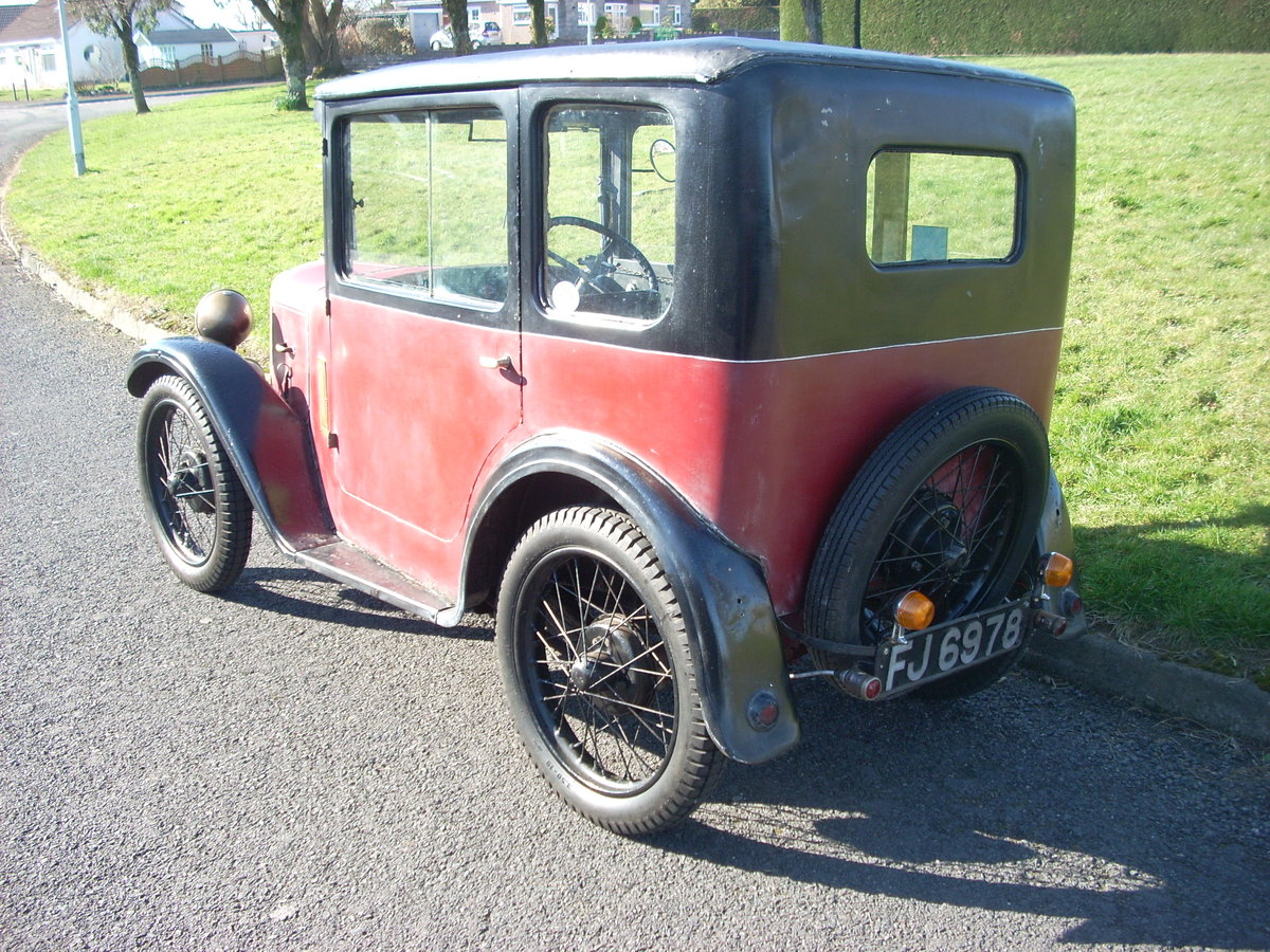 1930 Austin Seven RK Saloon For Sale (picture 2 of 6)