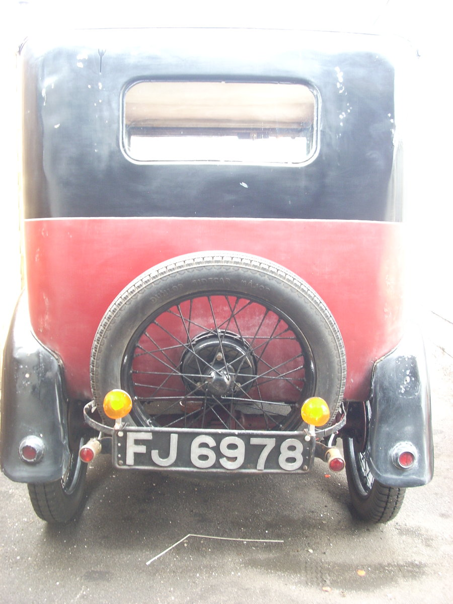 1930 Austin Seven RK Saloon For Sale (picture 4 of 6)