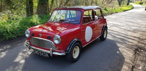 1963 Mk1 Austin Mini 850 Deluxe Tartan Red SOLD