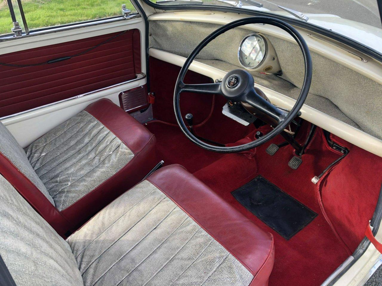 1961 Austin Seven Mini 848cc For Sale (picture 5 of 6)