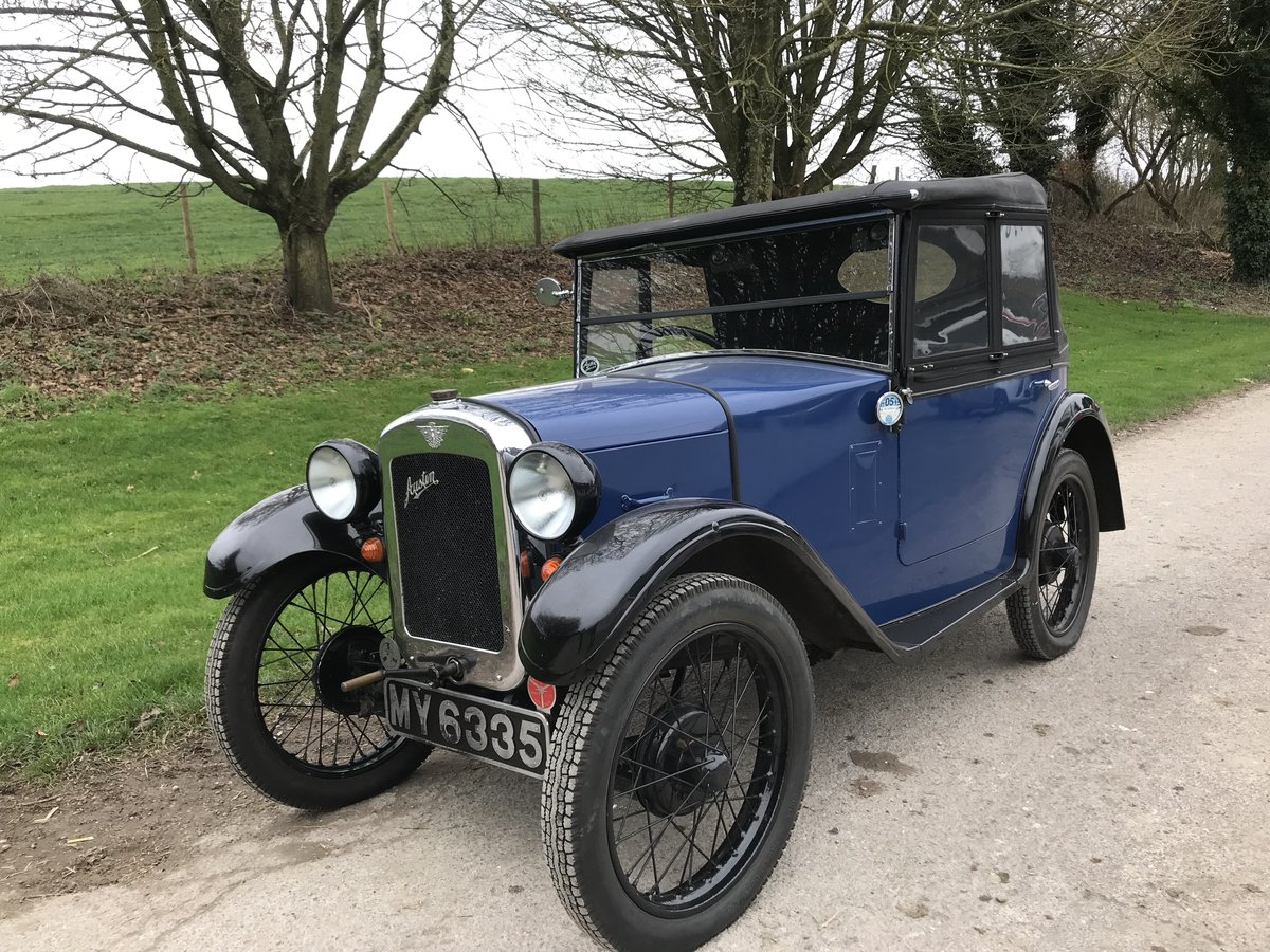 1930 Austin 7 Boat Tail Two Seater Tourer For Sale (picture 1 of 12)