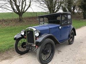 1930 Austin 7 Boat Tail Two Seater Tourer RESERVED SOLD