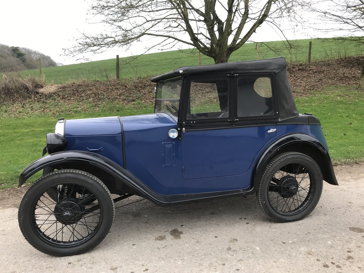 1930 Austin 7 Boat Tail Two Seater Tourer For Sale (picture 8 of 12)
