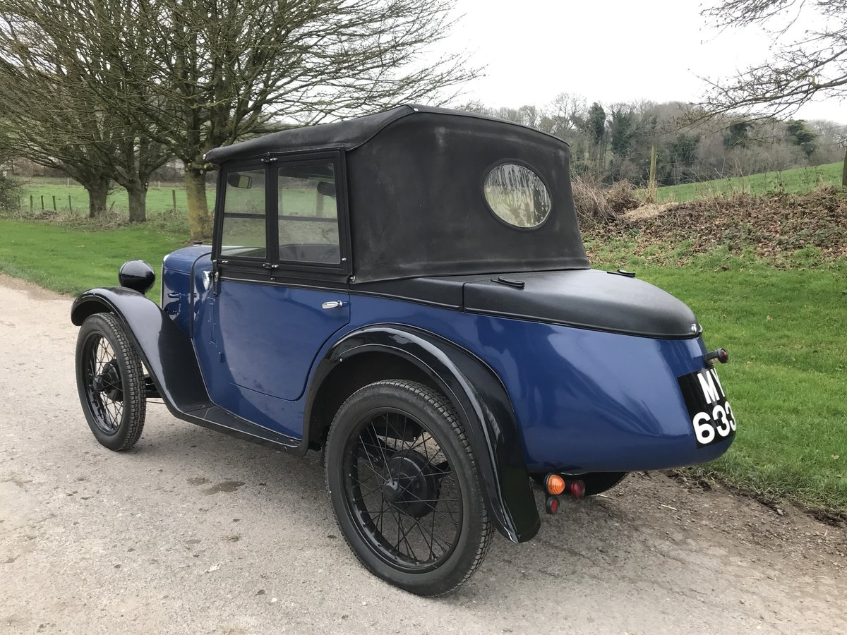 1930 Austin 7 Boat Tail Two Seater Tourer For Sale (picture 9 of 12)