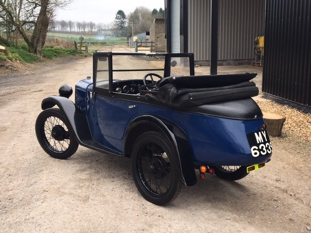 1930 Austin 7 Boat Tail Two Seater Tourer For Sale (picture 11 of 12)