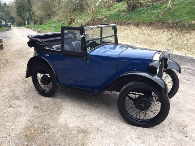 1930 Austin 7 Boat Tail Two Seater Tourer For Sale (picture 12 of 12)