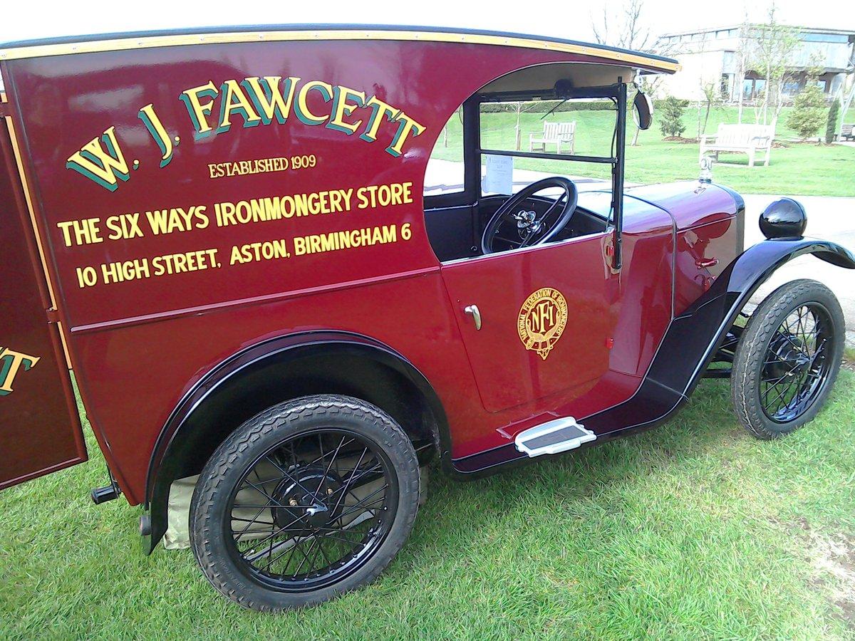 1931 Austin seven C cab van  For Sale (picture 3 of 6)