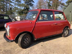 1981, Classic Mini HL, 998cc, low miles two owners For Sale