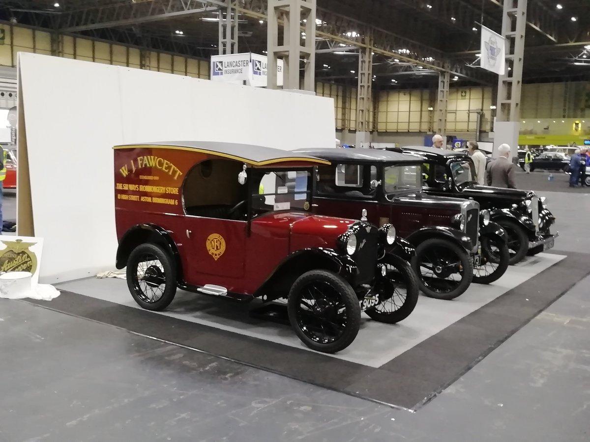 1931 Austin seven C cab van  For Sale (picture 6 of 6)