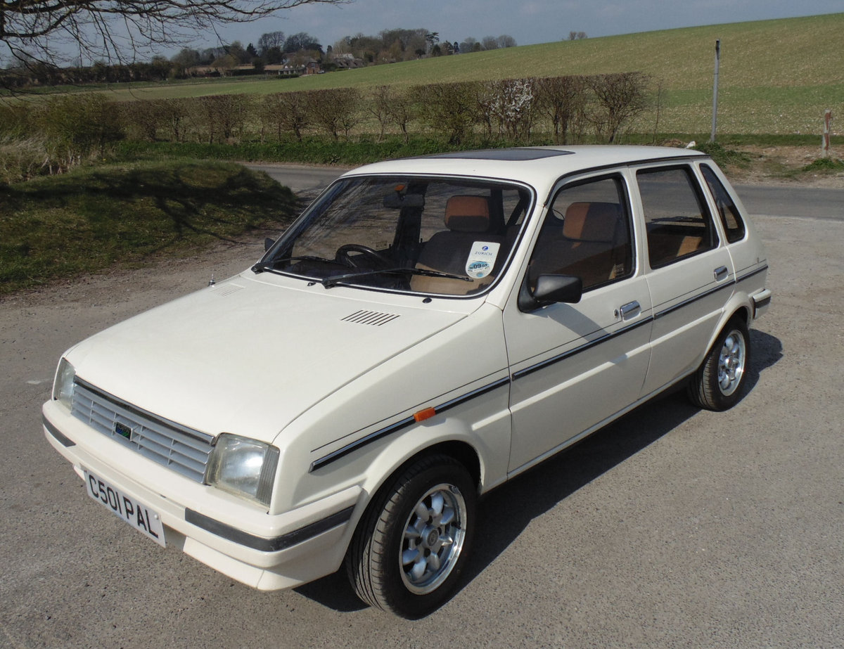 1986 Austin Metro Vanden Plas SOLD (picture 1 of 6)