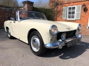 1966 Austin Healey Sprite. 1098. MK3. OEW. Stunning  For Sale