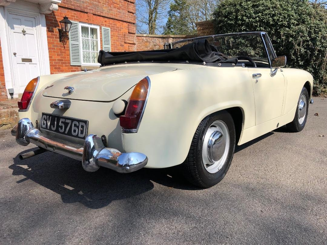1966 Austin Healey Sprite. 1098. MK3. OEW. Stunning  For Sale (picture 2 of 6)