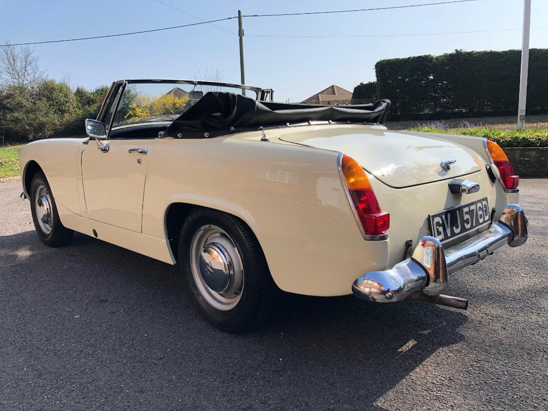 1966 Austin Healey Sprite. 1098. MK3. OEW. Stunning  For Sale (picture 3 of 6)