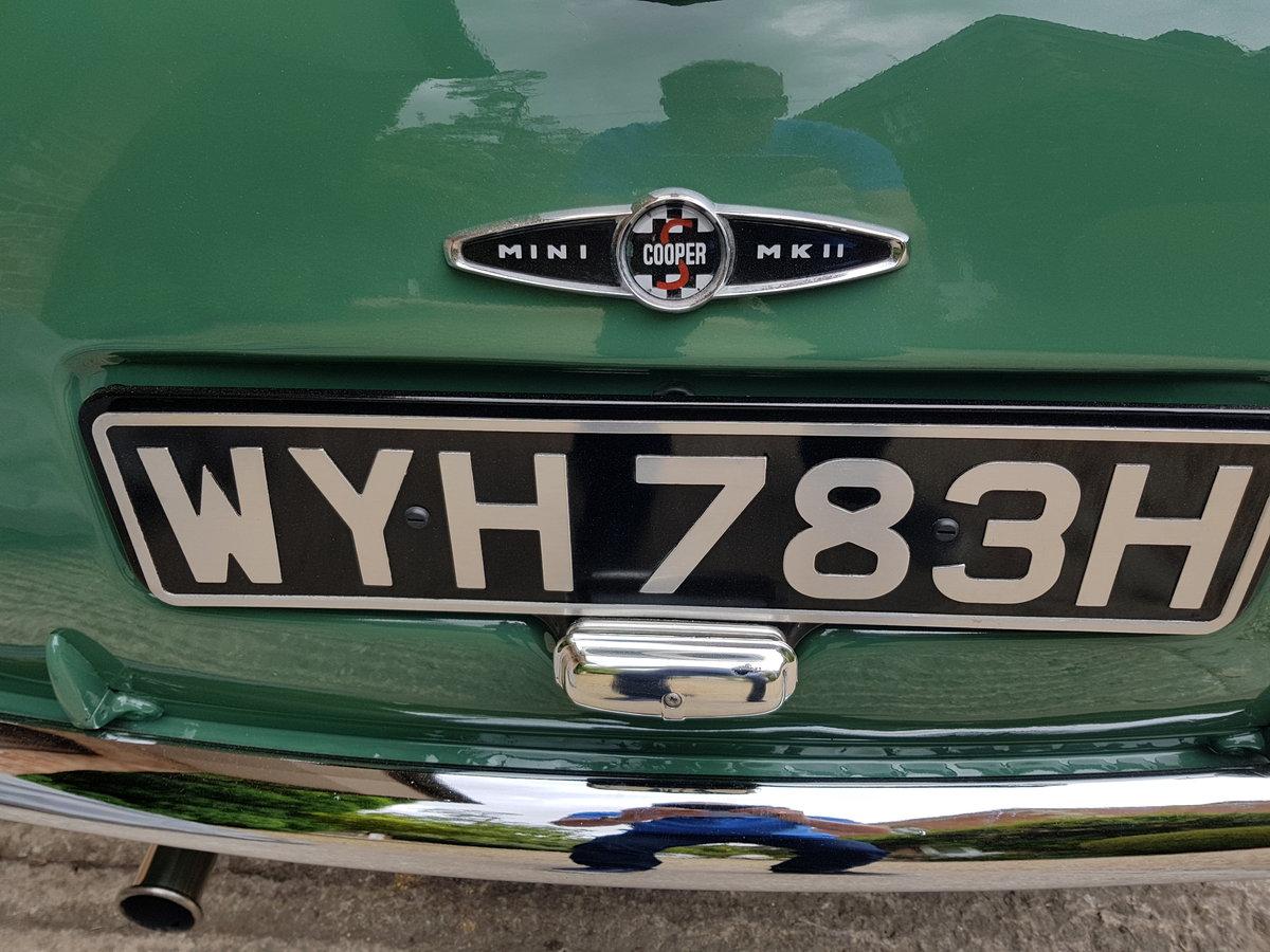 1969 Mk2 Mini Cooper S For Sale (picture 3 of 6)