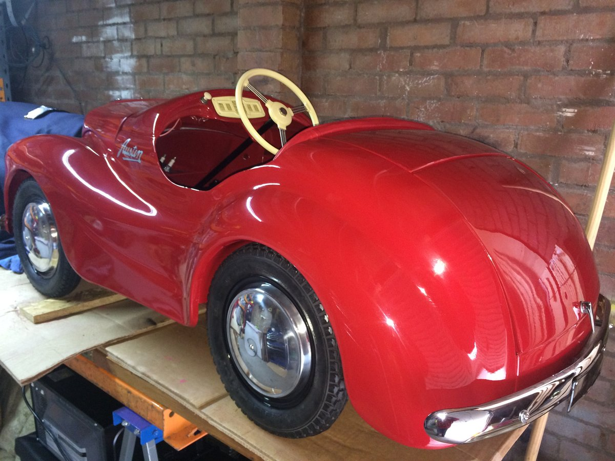 1968 Austin j40 pedal car For Sale (picture 2 of 6)